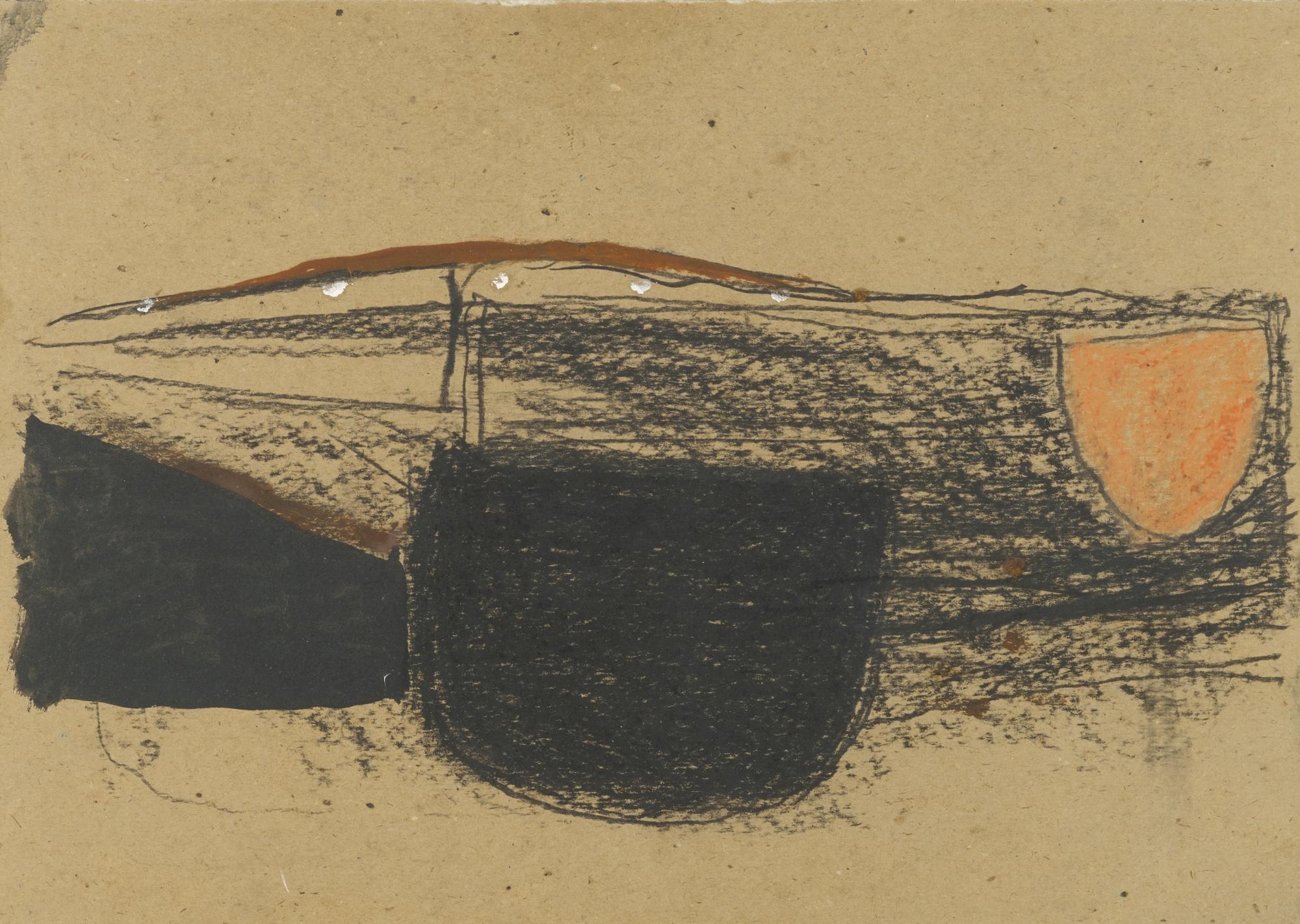 Roger Hilton-Untitled 1961-1961