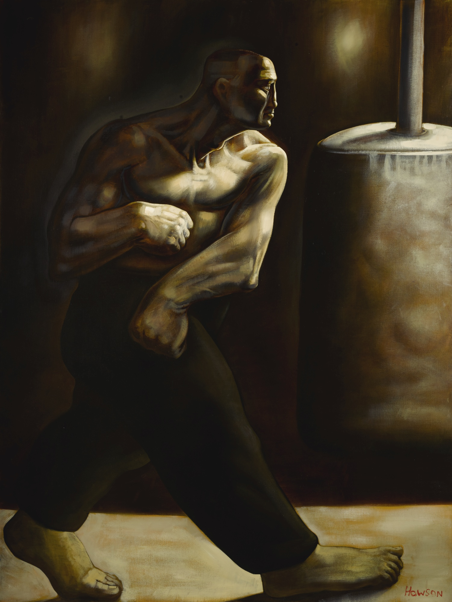 Peter Howson-Someone Up There Liked Me-1989