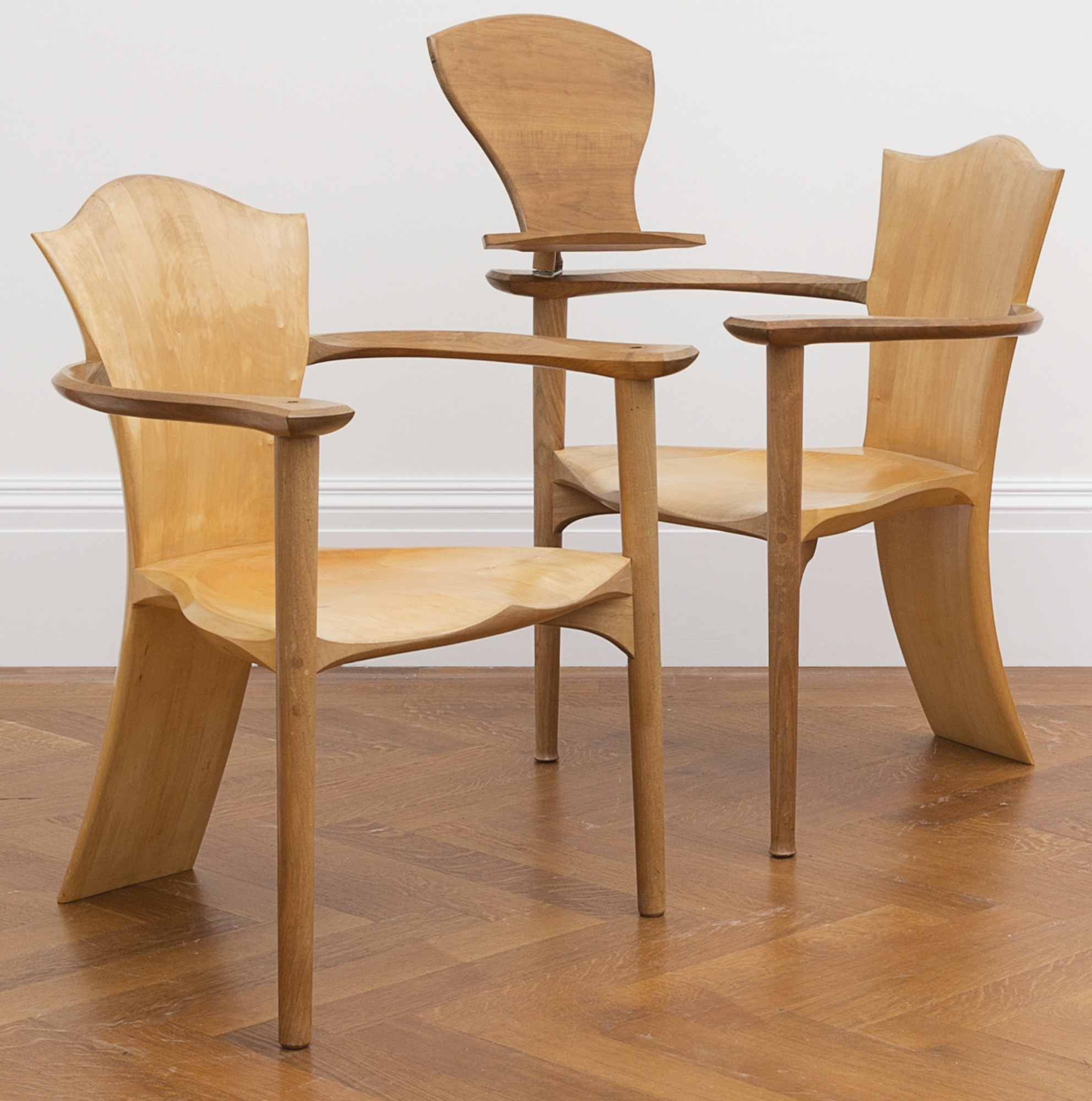 Matthew Burt - Two Reading Chairs-1996