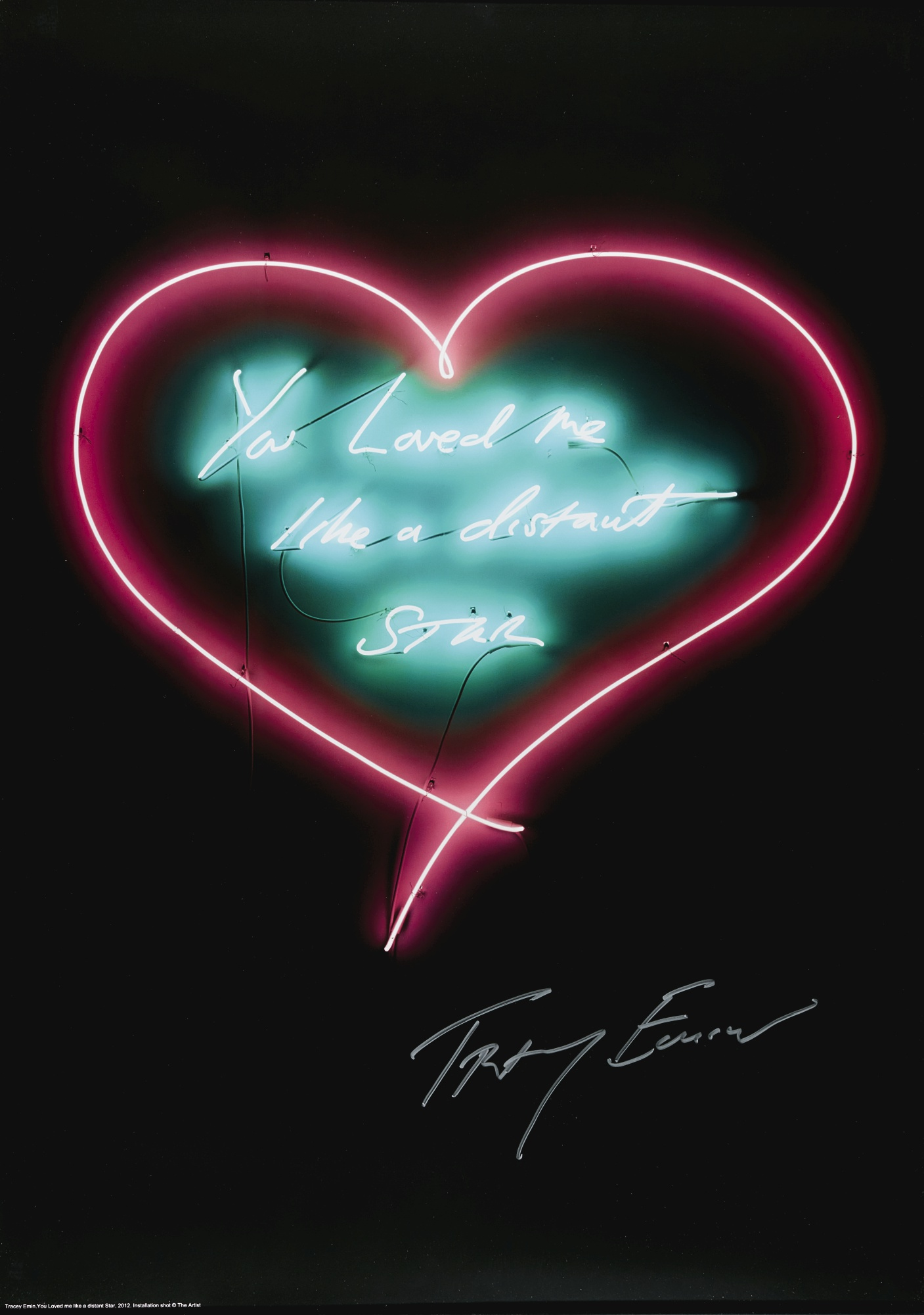Tracey Emin-My Favourite Little Bird; And You Loved Me Like A Distant Star-2013