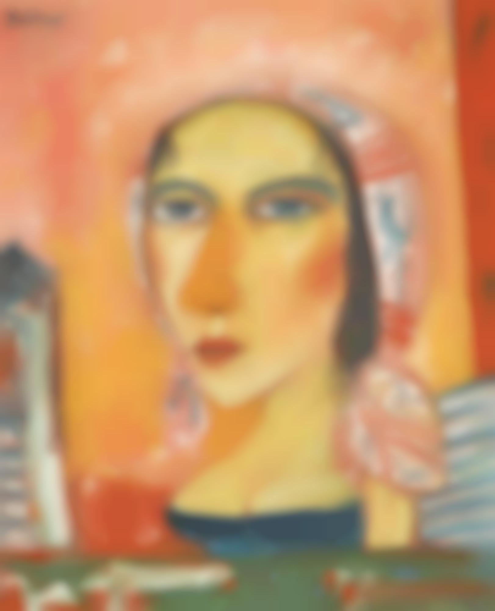 John Bellany-Woman-