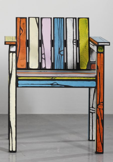 Richard Woods-Sebastian Wrong-Studio Chair, From The Wrongwoods Principal Collection-2012