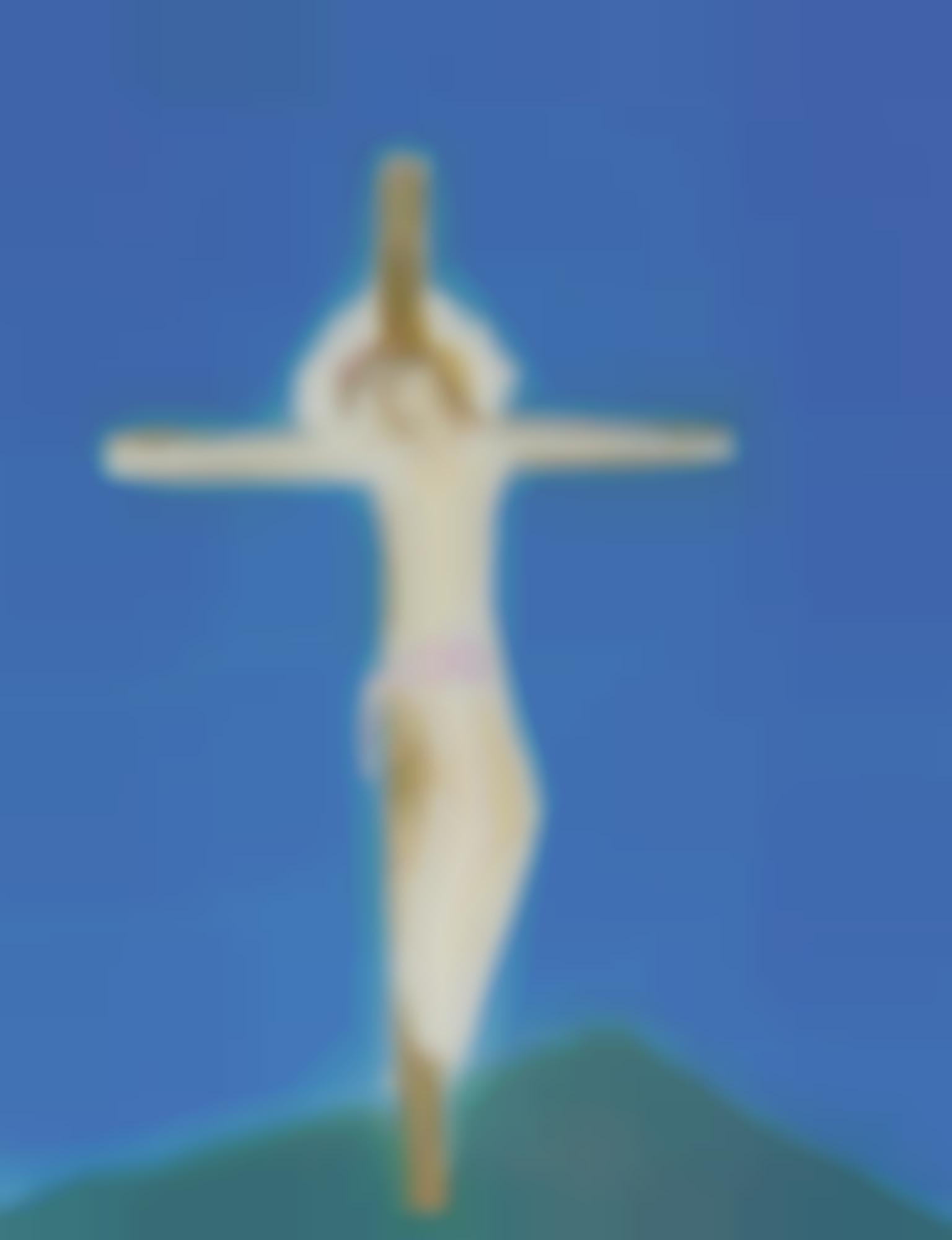 Craigie Aitchison-Crucifixion Green Hill-2004