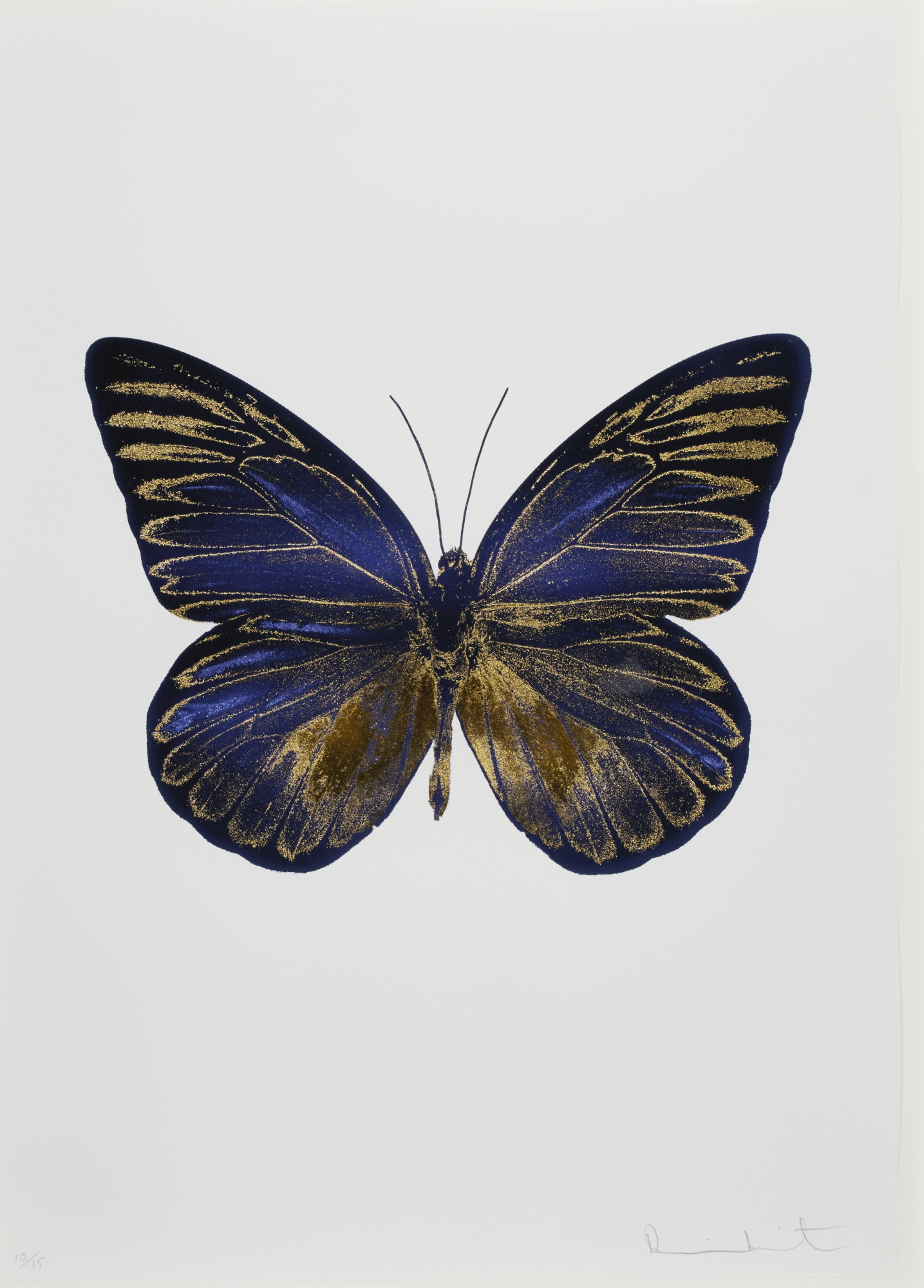 Damien Hirst-The Souls I: Imperial Purple/Oriental Gold-2010