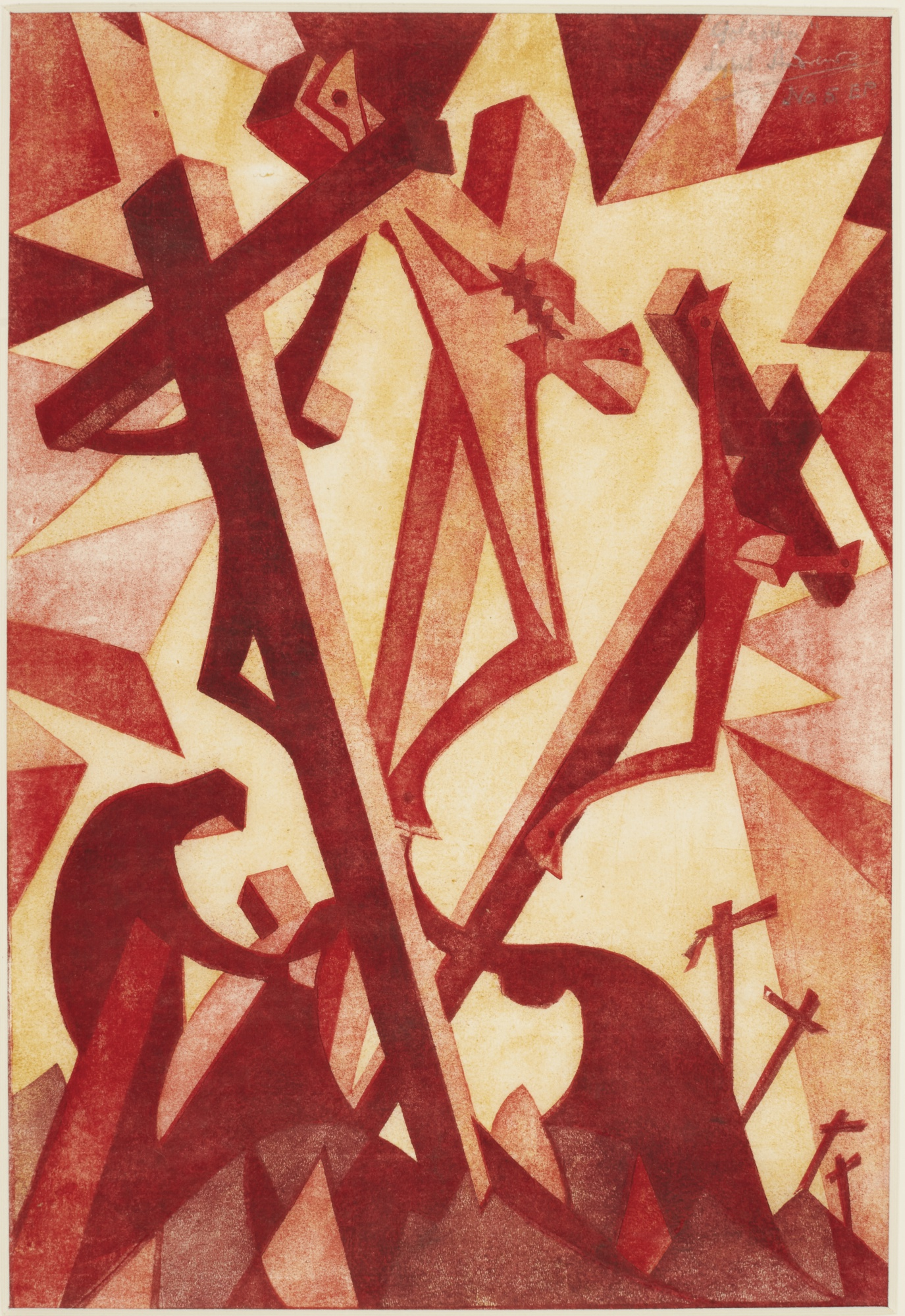 Sybil Andrews-Golgotha (C. Sa 15)-1931
