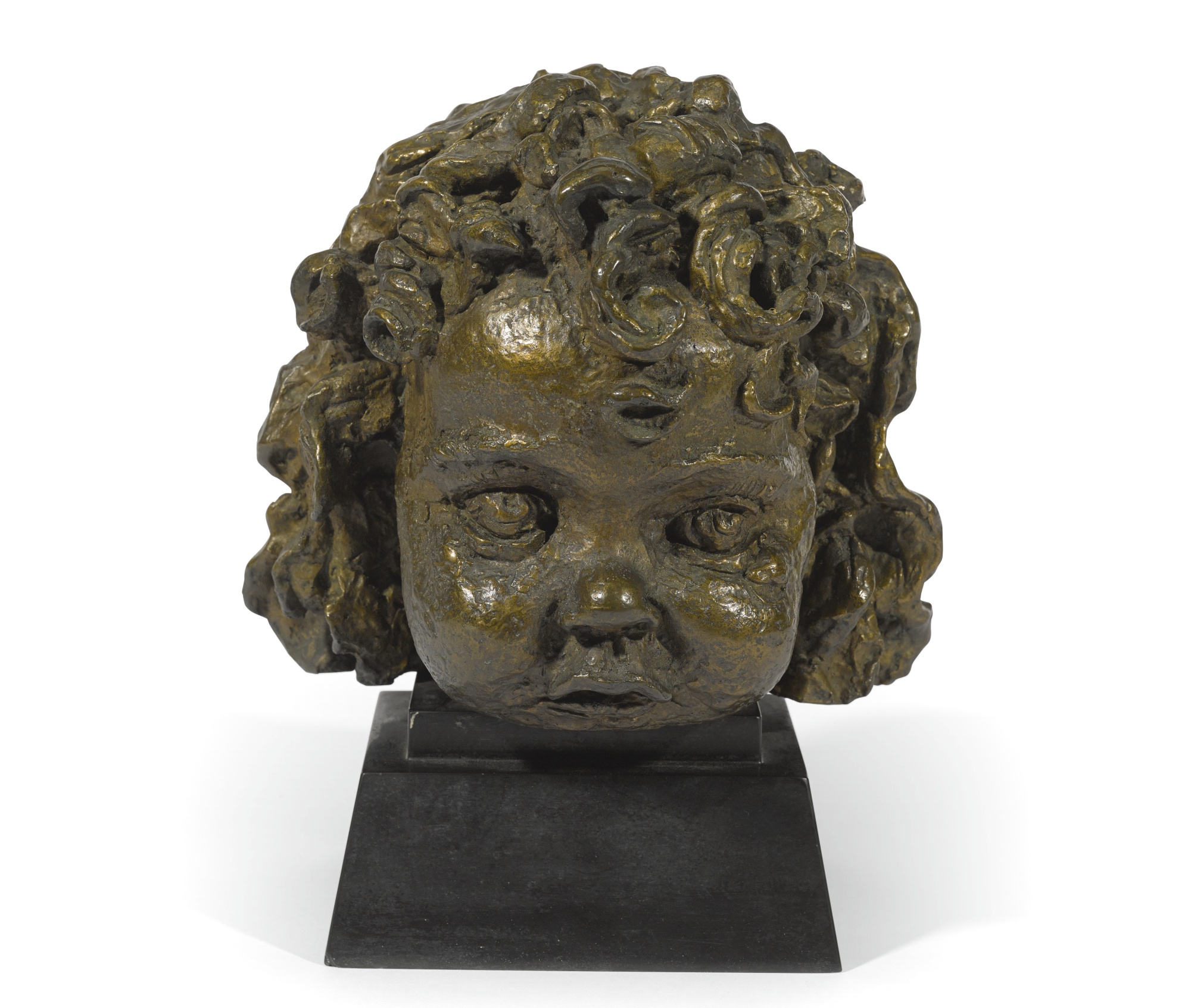 Jacob Epstein-Girl With Curls-1920