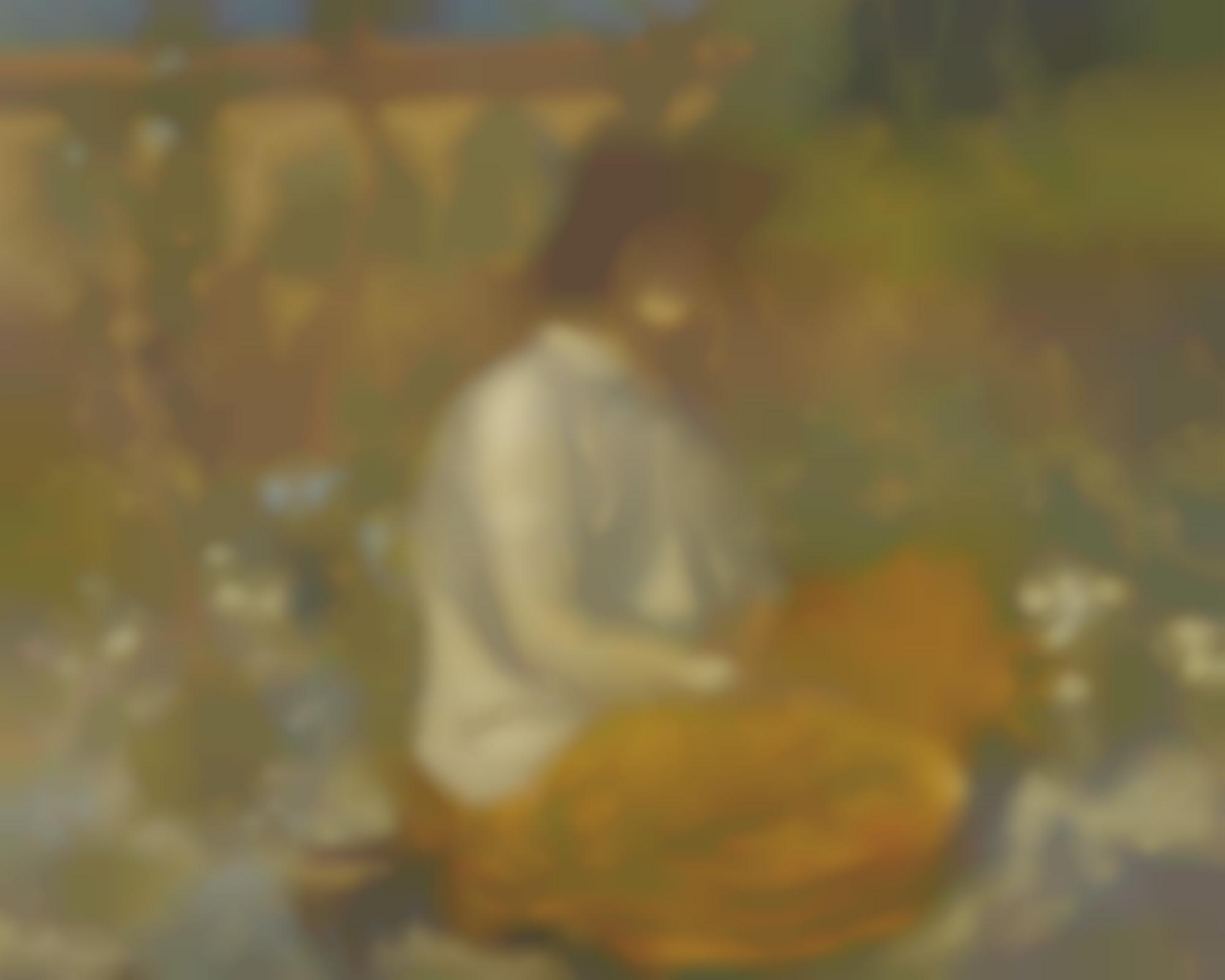 Derwent Lees-Lyndra At Aldbourne-1915