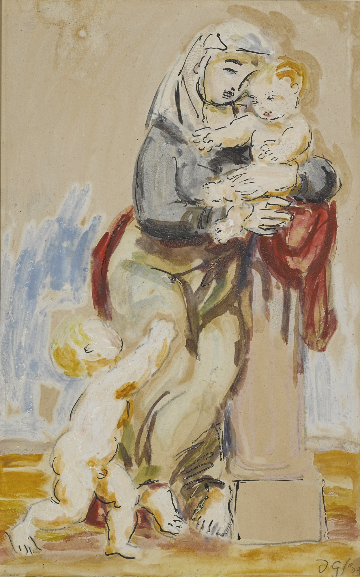 Duncan Grant-Mother And Children-1934