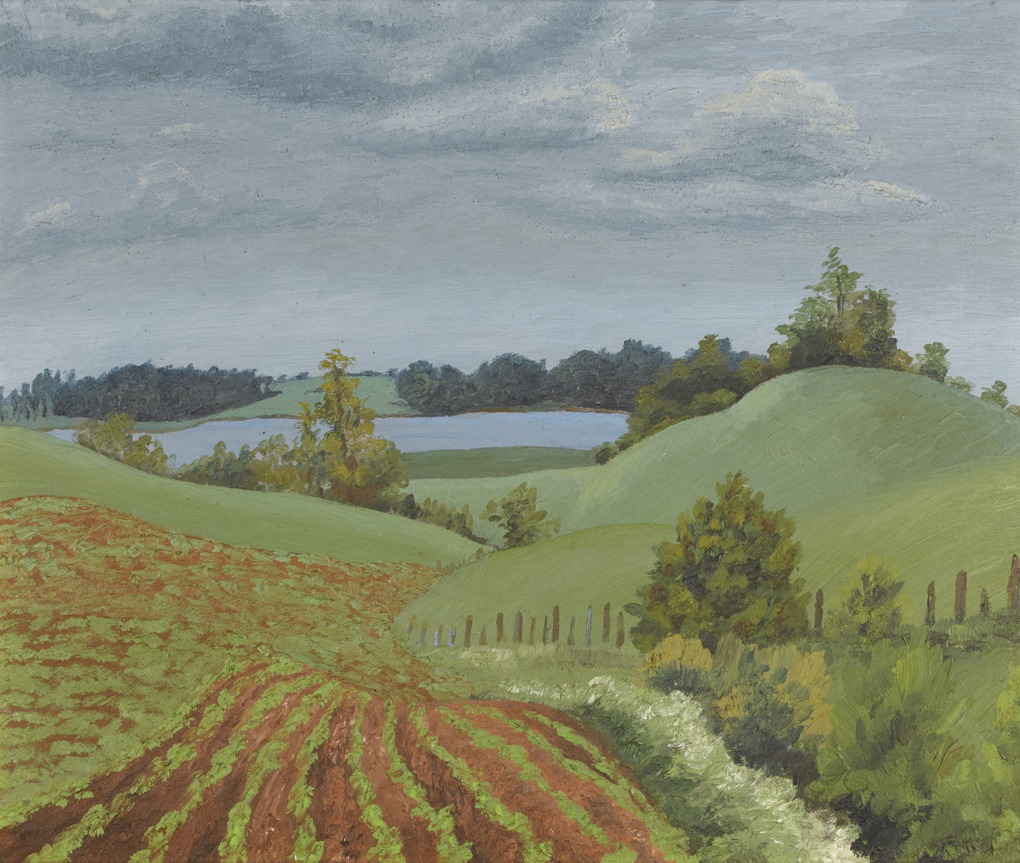 Cedric Morris-Landscape-