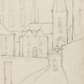Laurence Stephen Lowry-Sketchbook Containing Six Leaves