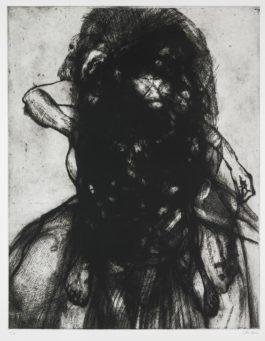 Glenn Brown-Layered Portrait (After Lucian Freud) 9-2008