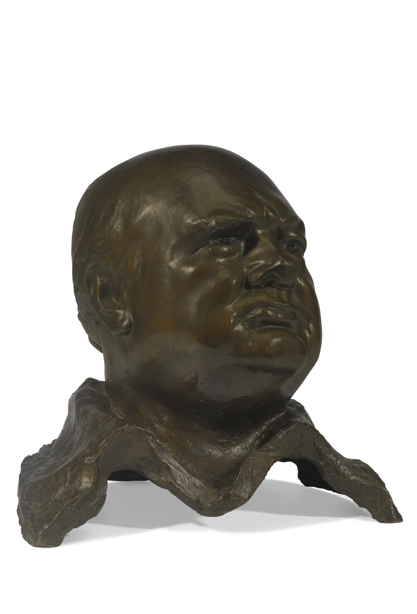 Oscar Nemon-Bust Of Winston Churchill-1960