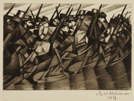 Christopher R. W. Nevinson-Returning To The Trenches (B. 9)-1916