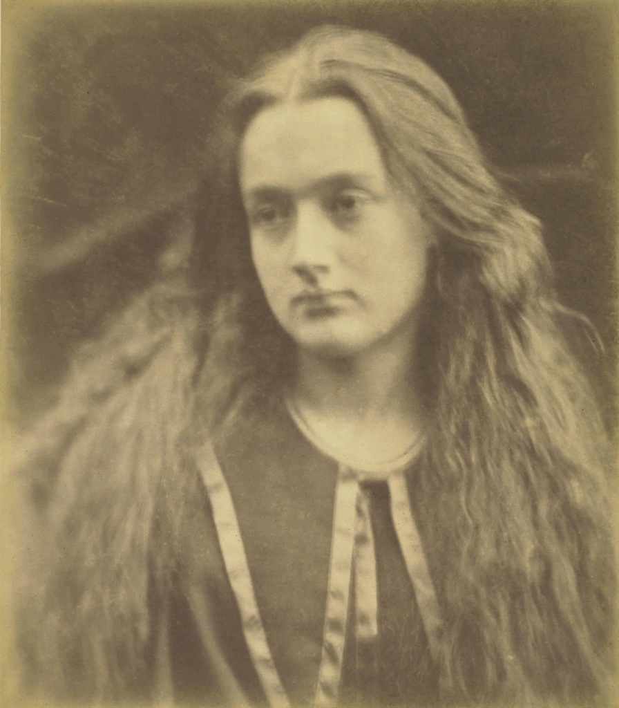 Julia Margaret Cameron-Mrs. Ewen Hay Cameron (Annie Chinery Cameron)-1869