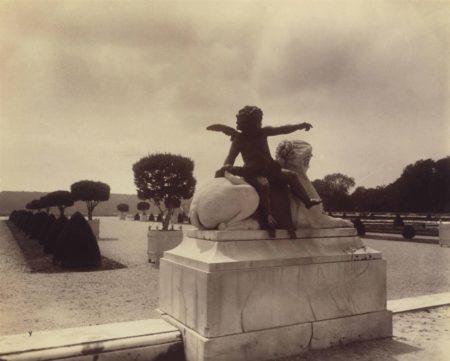 Eugene Atget-Versailles, Parc-1901