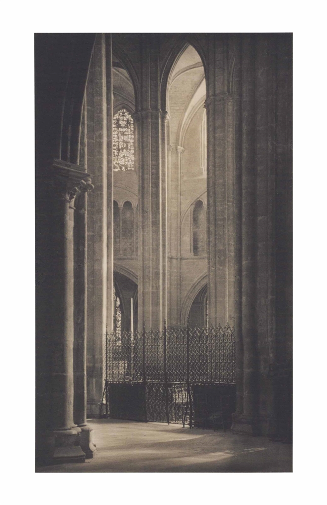 Frederick H. Evans-Height And Light In Bourges Cathedral-1900