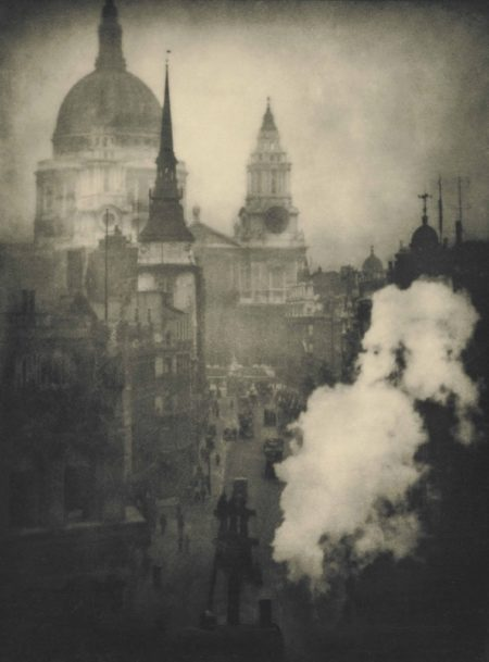 Alvin Langdon Coburn-St. Pauls Cathedral From Ludgate Circus, London-1905