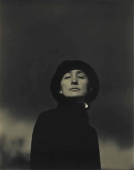 Alfred Stieglitz-Portrait Of Georgia, No.1-1923