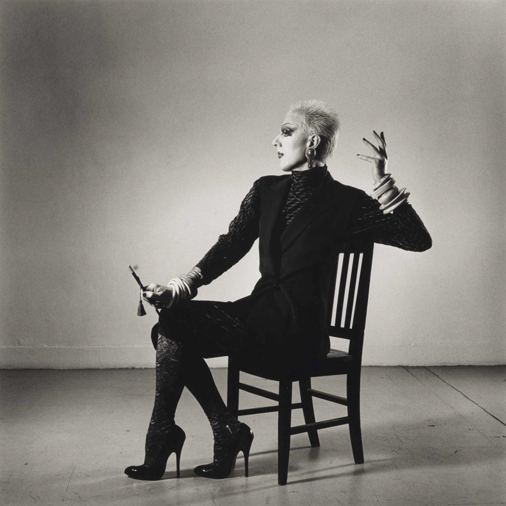 Peter Hujar-Ethyl Eichelberger In A Fashion Pose-1981