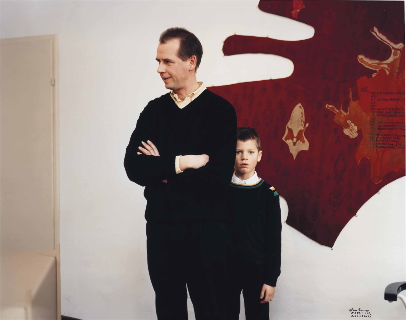 Tina Barney-Art Dealer And Son-2001