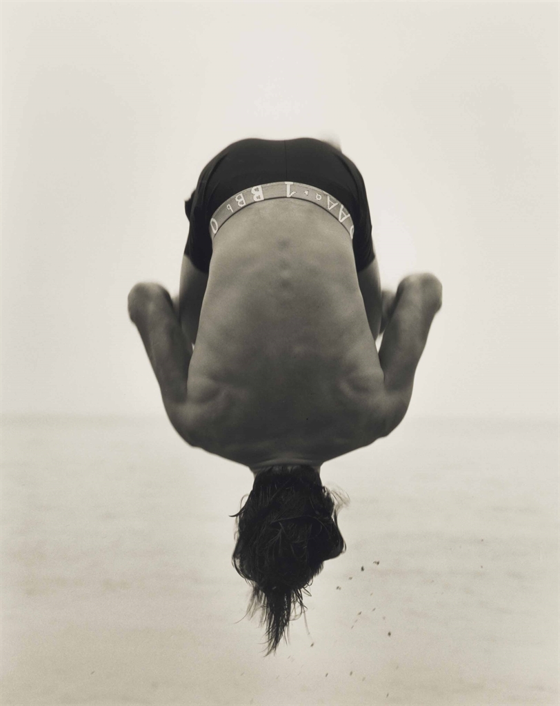 Herb Ritts-Backflip, Paradise Cove-1987