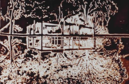 Vik Muniz-The Glass House, After Robin Hill, From Pictures Of Chocolate-2016