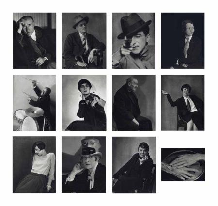 Berenice Abbott-Faces Of The 20S-1981