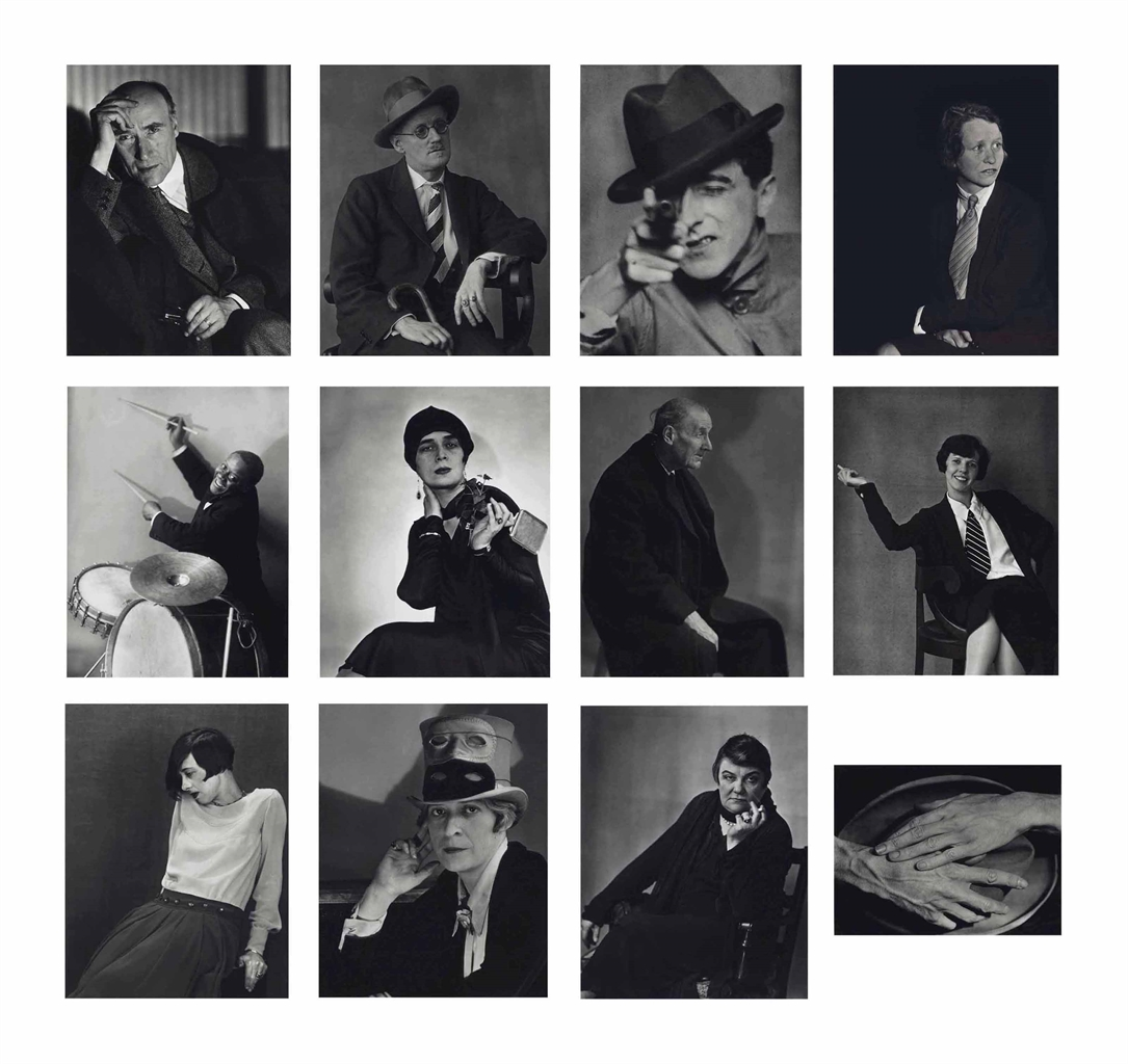 Berenice Abbott-Faces Of The 20S-1981