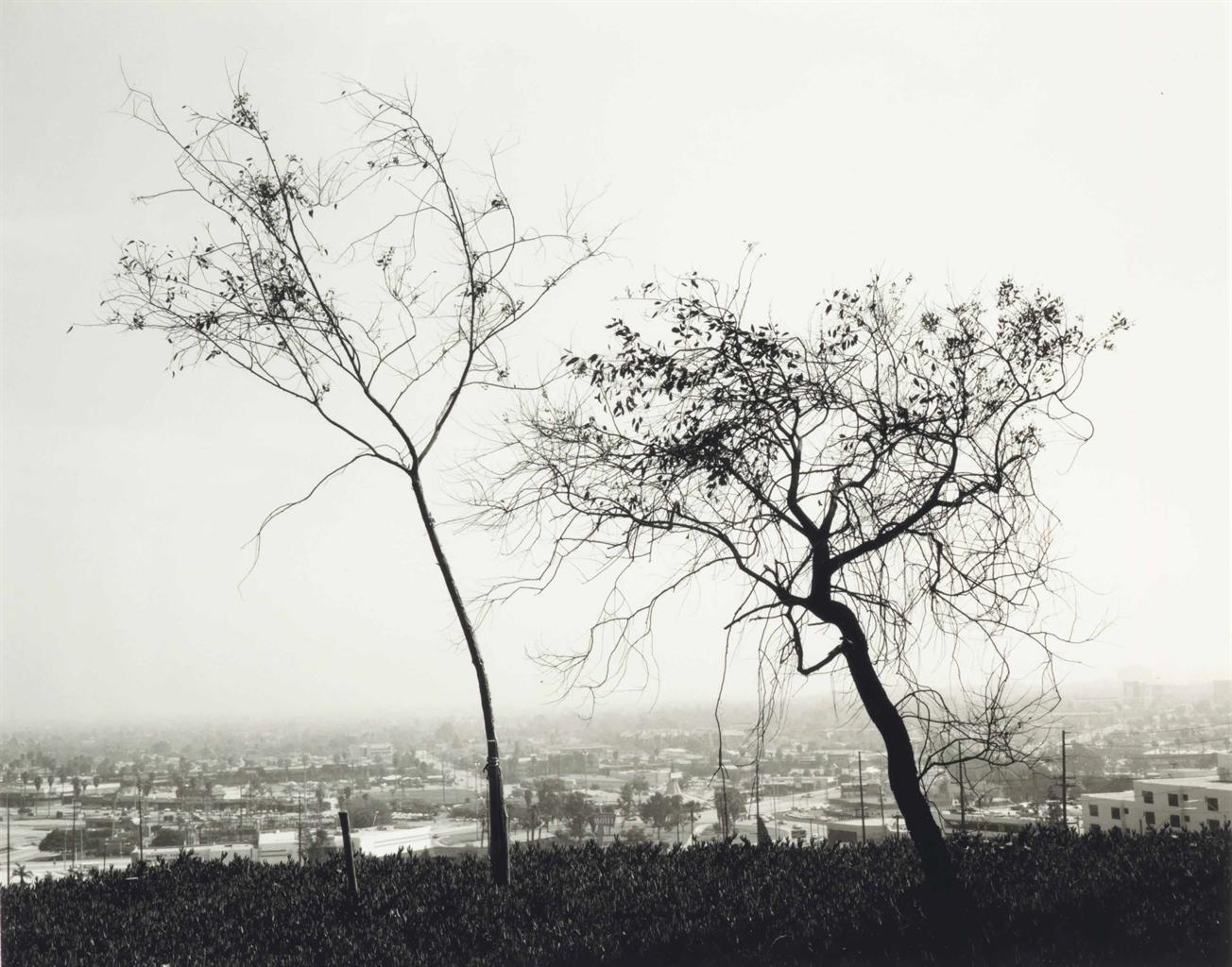Robert Adams-On Signal Hill, Overlooking Long Beach, California-1983