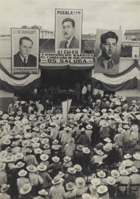 Manuel Alvarez Bravo-Untitled (Political Rally)-1946