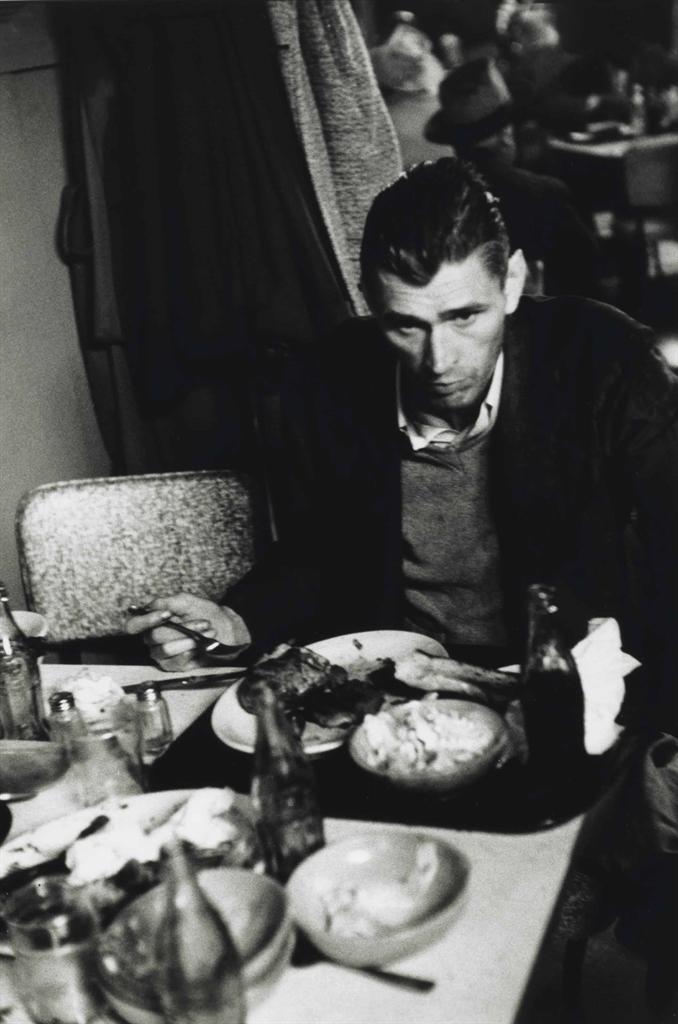 Robert Frank-Cafeteria, San Francisco-1956