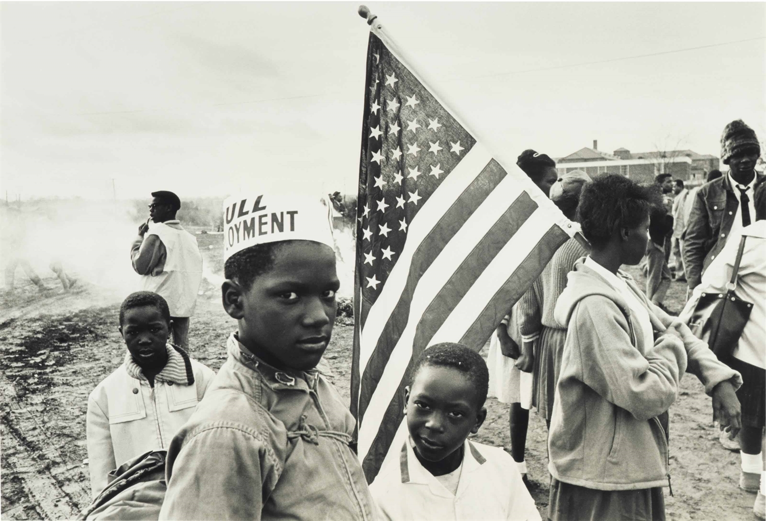 Dennis Hopper-Untitled (Civil Rights March, Louisiana)-1964