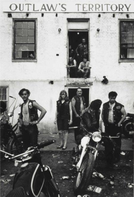 Danny Lyon-Club House During The Columbus Run, Dayton, Ohio-1966