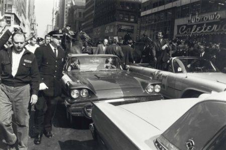 Garry Winogrand-Richard Nixon Campaigning In New York: Nixon-Kennedy Presidential Race-1960