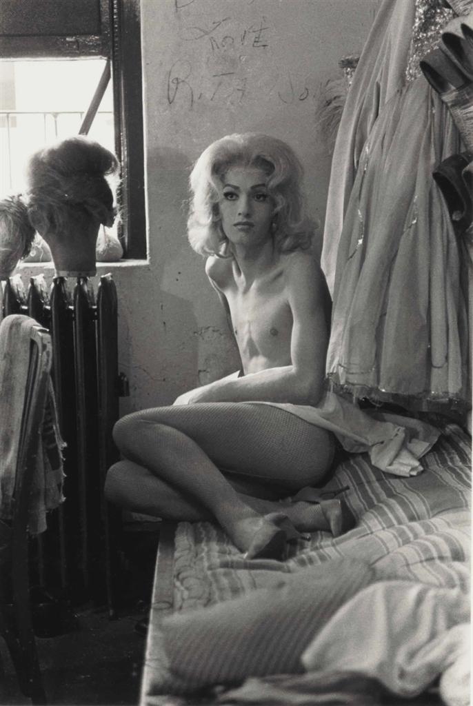 Diane Arbus-Female Impersonator On A Bed, N.Y.C.-1961