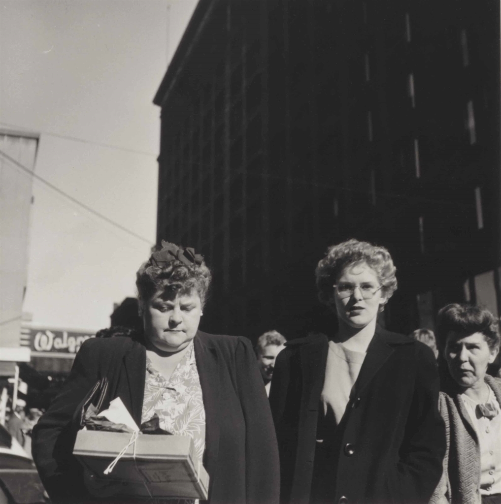 Walker Evans-Corner Of State And Randolph Streets, Chicago, Illinois-1946