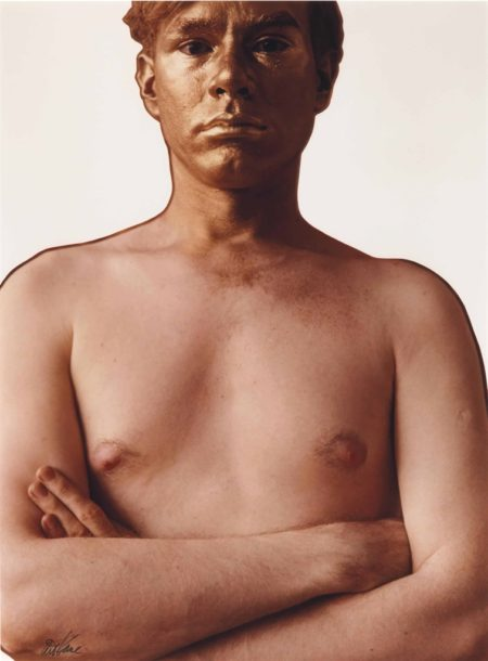 Art Kane-Andy Warhol As The Golden Boy-1962