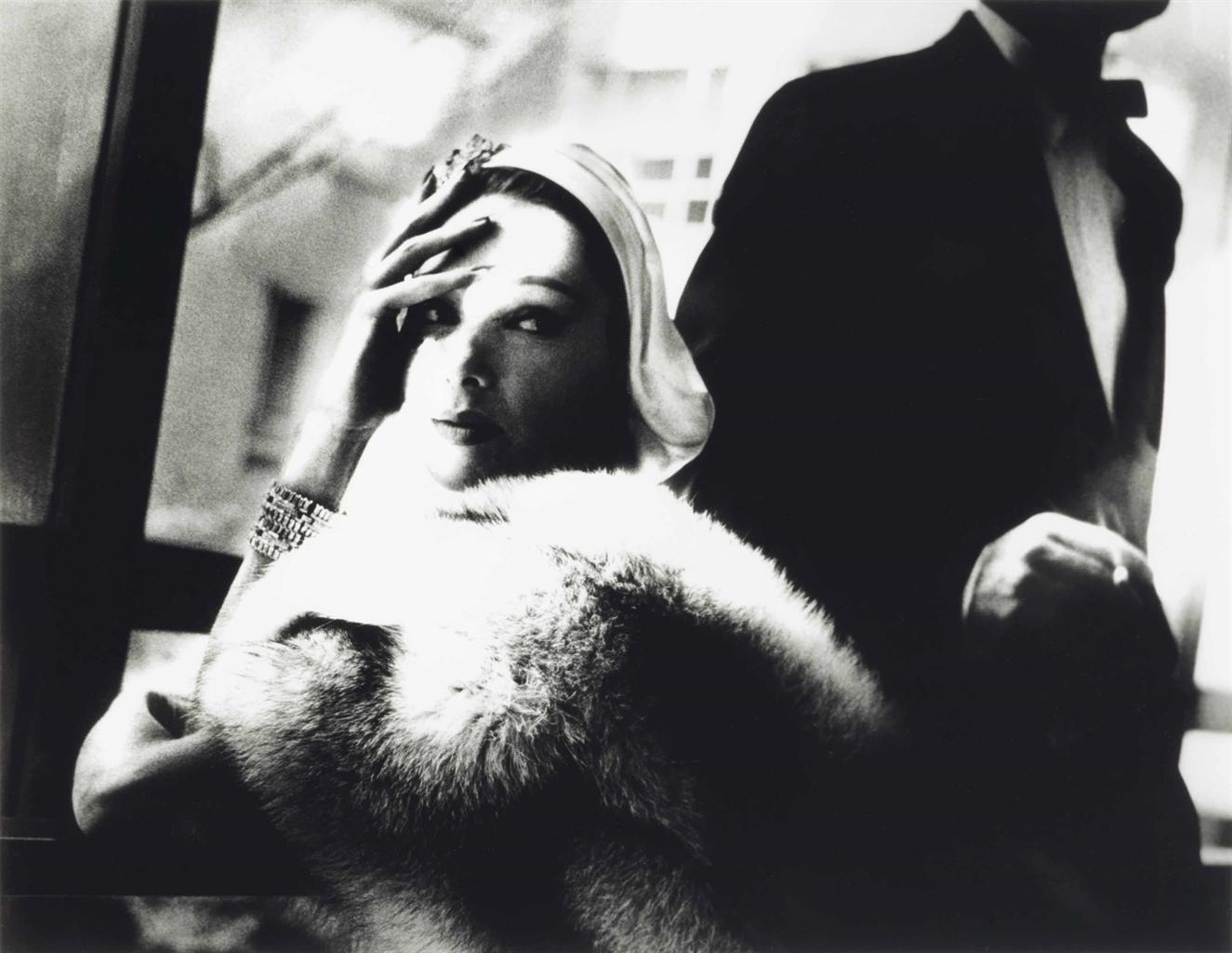 Lillian Bassman-Harpers Bazaar, Marilyn Ambrose, November 1954-1954