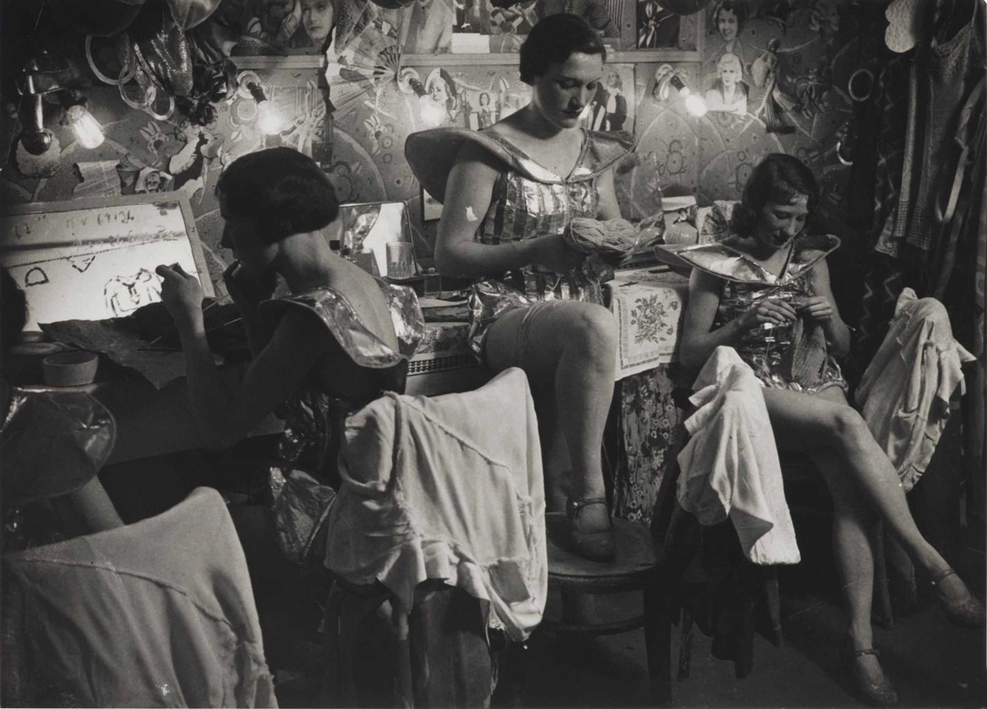 Brassai-Dressing Room At The Folies Bergere-1932