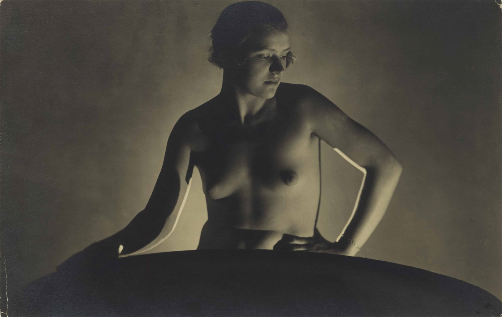 Frantisek Drtikol-Untitled (Backlit Nude)-1920