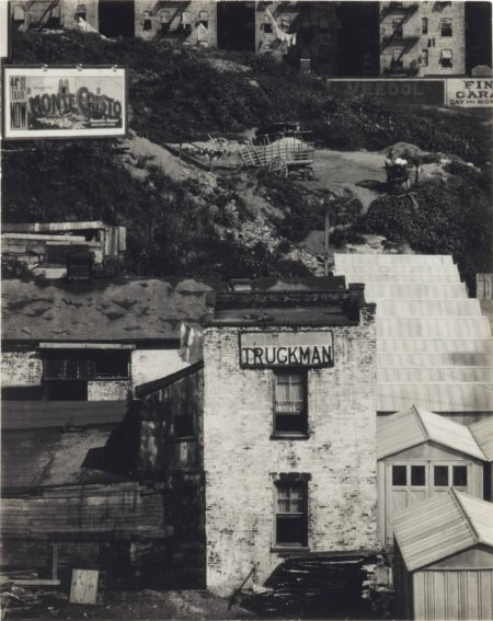 Paul Strand-The Truckmans House, New York-1920