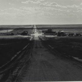 Dorothea Lange-Untitled (Road)-1930