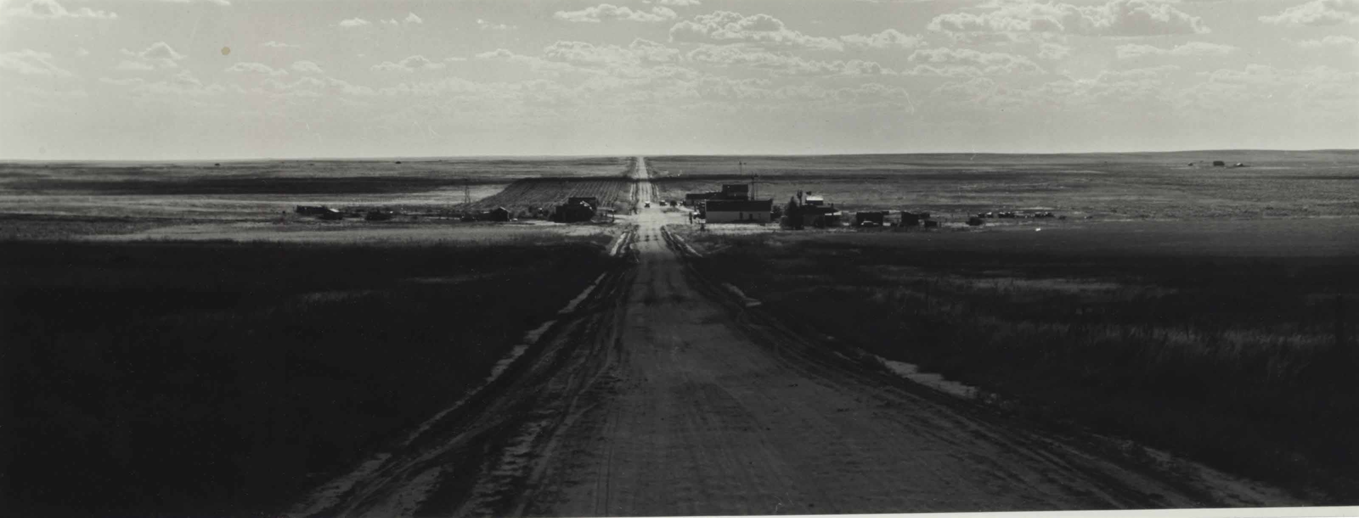 Dorothea Lange-Untitled (Road)-1930