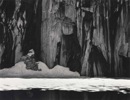 Ansel Adams-Frozen Lake And Cliffs, Kaweah Gap, Sierra Nevada, California-1932