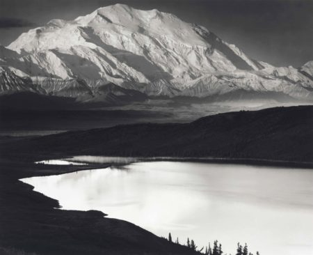 Ansel Adams-Mount Mckinley And Wonder Lake, Denali National Park, Alaska-1947
