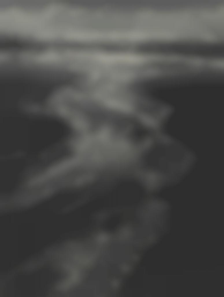 Ansel Adams-Stream, Sea, Clouds, Rodeo Lagoon, Marin County-1962