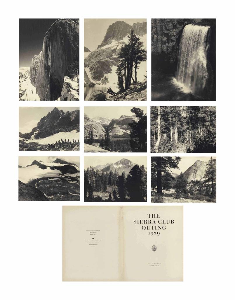 Ansel Adams-The Sierra Club Outing-1929