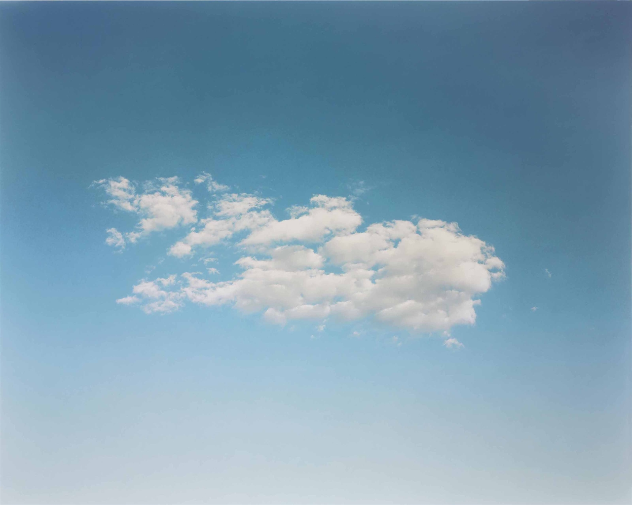 Richard Misrach-Cloud #333-1993