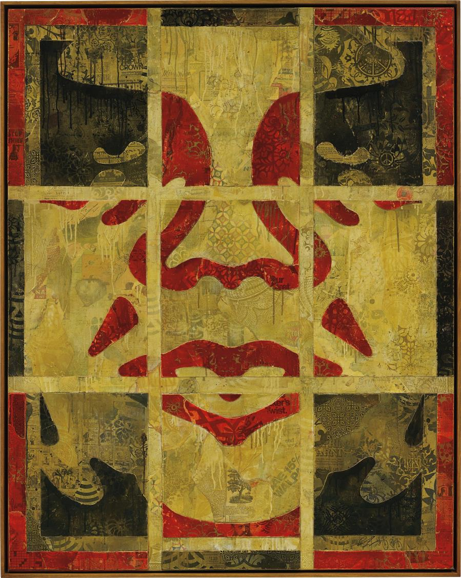 Shepard Fairey-Repetition Works Icon-2011