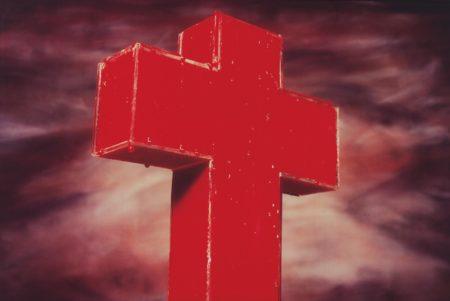 Andres Serrano-Blood Cross-1985
